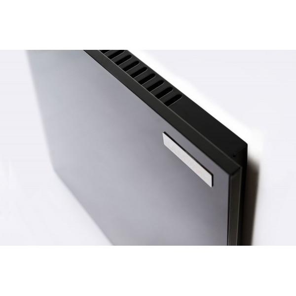 375 Вт Черный обогреватель с конвекцией и терморегулятором