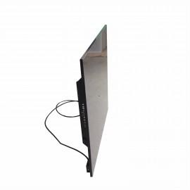 Керамический обогреватель КАМ-ИН easy heat standart черный с терморегулятором и полотенцесушителем
